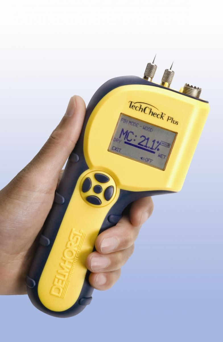 Delmhorst, Moisture meter, building materials, TechCheck Plus
