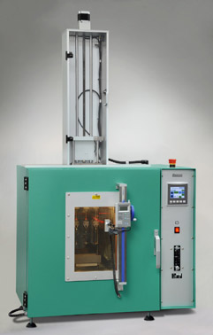 Elastocon Hot set tester, cable sheat test